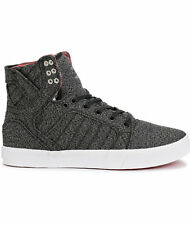 New Supra Skytop Heathered Knit Skate Shoes Men's Sz 6
