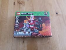 LEGO Minecraft The Nether Fight! FREE SHIPPING!