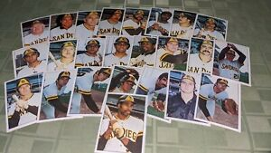 San Diego Padres 1975 SSPC Baseball Card Team Set of 24 Dave Winfield