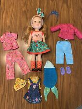 New ListingAmerican Girl Wellie Wishers Welliewishers Willa Doll + Clothes