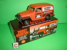 TRUST WORTHY 1953 WILLYS JEEP PANEL DELIVERY TRUCK LIBERTY CLASSICS MODEL NEW C