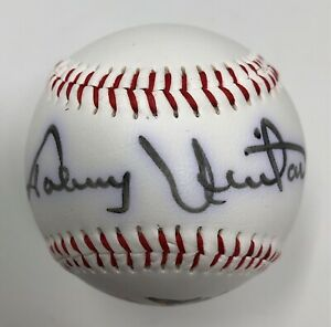 Johnny Unitas Signed Baseball Baltimore Colts NFL HOF Autograph JSA