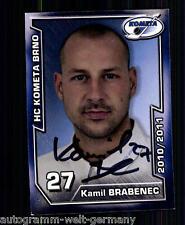 Kamil Brabenec HC Kometa Brno 2010-11 top ak +a9060 + a 73427