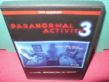 PARANORMAL ACTIVITY 3 - VER. EXTENDIDA - dvd