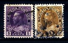 CANADA - 1922-1925 - Re Giorgio V in uniforme di ammiraglio