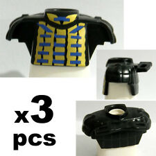 3 Pcs Playmobil Chest Shield Armor