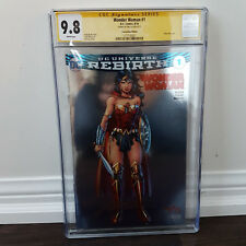 Wonder Woman Rebirth #1 Foil CGC 9.8 Jim Lee