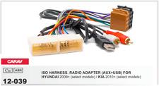 CARAV 12-039 Conector ISO OEM Radio Adaptador HYUNDAI 2009+, KIA 2010+