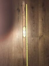 "Vintage Stanley Brass Wood 30"" Rule & Level Co. Mar. 25 1890 Pat. 6-2-91 6-23-96"