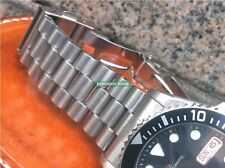 Solid Stainless Steel President Replacement Oyster Bracelet For SKX031