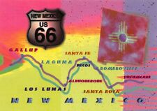 Fun Times on Route 66 Map of New Mexico