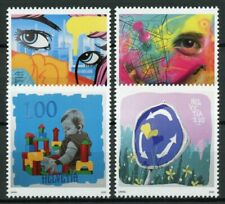 Switzerland Street Art Stamps 2020 MNH Smart City 4v Set