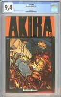 Akira #9 CGC 9.4 White Pages 1989 2122022017 Newsstand Katsuhiro Otomo
