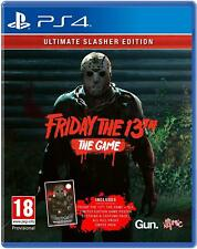 Friday 13th Ultimate Slasher Edition Sony PlayStation Ps4 Game - 18 Years