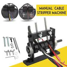 Manual Copper Wire Stripping Machine Cable Peeling Stripper Recycling With2 Cutter