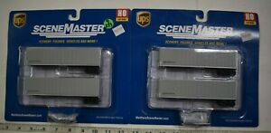 Lot 9-233 * HO Scale Walthers Scenemaster 2 x 949-2509 40' Trailmobile Trlr UPS