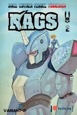Rags 2 Mecha Patreon Variant NM+ 9.6 ( Not Silver Foil Or 1 Or 3 ) In Hand