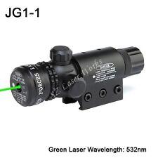 Sporting Gun Green Laser Dot Sight Scope 20mm Picatinny Mount Rifle Pistol New
