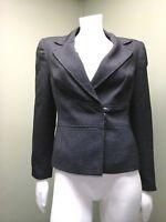 Calvin Klein Women's Black & White Tweed Suit Jacket~ Size 8P