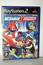 MEGAMAN X COMMAND MISSION USATO OTTIMO PS2 ED ITALIANA GIOCO INGLESE FR1 35204