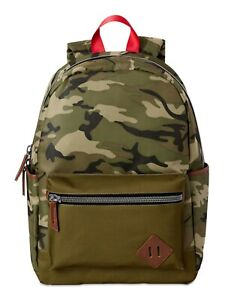 Green Camo Boy's Backpack