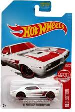 2017 Hot Wheels Red Edition 10/12 '67 Pontiac Firebird 400 ERROR front big wheel