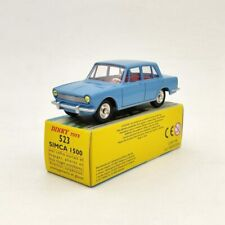 Atlas DINKY TOYS 523 SIMCA 1500 Blue Diecast Models Collection 1/43