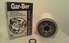 Four #R Gar-Ber R Spin On Furnace Fuel Oil Filter Epoxy Coated Garber Cartridge