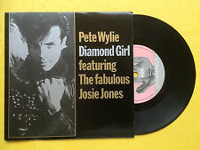 Pete Wylie Feat. The Fabulous Josie Jones - Diamond Girl, MDM-12 Ex+