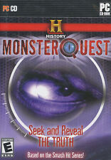 MONSTER QUEST History Channel MonsterQuest Mystery PC Game NEW!