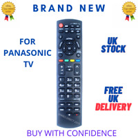 New Replacement Remote Control for Panasonic N2QAYB000829