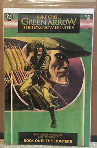 GREEN ARROW Mike Grell The LONGBOW HUNTERS BOOK ONE: The Hunters - DC Comics NEW