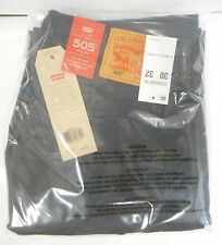 Levi's 505 Jeans New Mens Regular Fit Straight Leg 30/32 Graphite