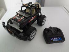 NIKKO/tonico Jeep CJ-7 Wrangler schwarz Monstertruck M.1:22