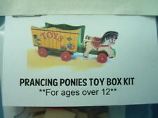 """Miniature Pull Toy Kit -""""Prancing Ponies Toy Cart"""" Twelfth Dimension -1/12th"""