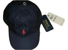 New Polo Ralph Lauren Boy's  Baseball Cap Hat  4 - 7 Years  Pony Logo Navy Blue