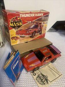 Vintage 1985 Kenner Thunder MASK Thunder Hawk With Matt Trakker & 1 Other, Mint!