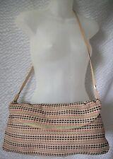 Fabulous M Missoni Woven Suede Handbag Shoulder Bag