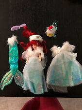 1991 TYCO DISNEY SPECIAL EDITION THE LITTLE MERMAID HOLIDAY ARIEL DOLL