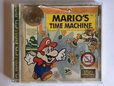 Mario's Time Machine Super Mario Bro PC CD-ROM/MS-DOS Windows - Very Rare