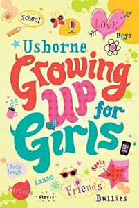 Growing Up for Girls by Felicity Brooks Book The Cheap Fast Free Post