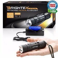 #1 Brightest Brightex XR-700 Small Powerful Tactical Light Flashlight 18650 Kit!