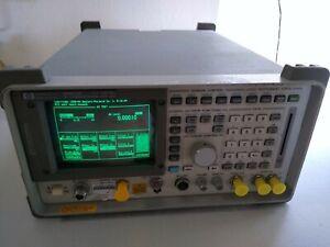 Hewlett Packard HP 8920A RF Communications Test Set OPTIONS 003-010-102 019 NICE