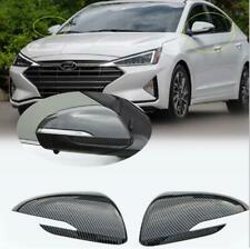 Rear view mirror cover for HYUNDAI Elantra 2019-2020 Carbon Fiber style