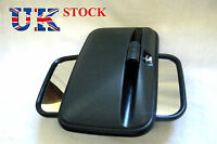 Set of 2x Universal Side Wing E6 marked Mirror fit Truck Bus Lorry size 36x18cm