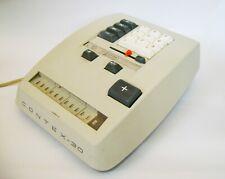 Vintage adding machine calculator Contex-30  (Denmark  1965)