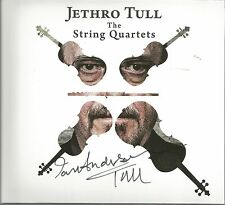 The String Quartets * by Jethro Tull (CD, 2017, BMG) Original Signed