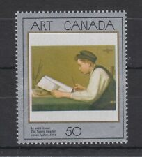 CANADA MNH STAMP SET 1988 CANADIAN ART ART CANADA 1ST SERIES  SG 1289