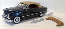 Franklin Mint 1/24 Scale Diecast - B11UL65 Ford Convertible 1949 Dark blue