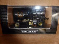 Minichamps 1:43 Emerson Fittipaldi Lotus 72 World Champions Collection 1972 F1